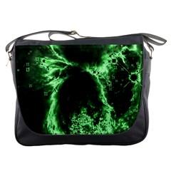 Space Messenger Bags by Valentinaart
