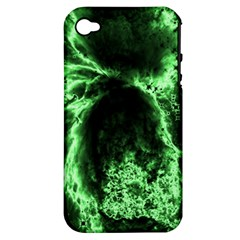 Space Apple Iphone 4/4s Hardshell Case (pc+silicone) by Valentinaart