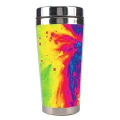 Space Stainless Steel Travel Tumblers by Valentinaart