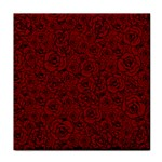 Red Roses Field Tile Coasters