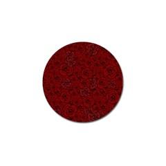 Red Roses Field Golf Ball Marker