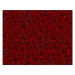 Red Roses Field Rectangular Jigsaw Puzzl