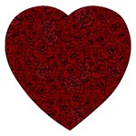 Red Roses Field Jigsaw Puzzle (Heart)