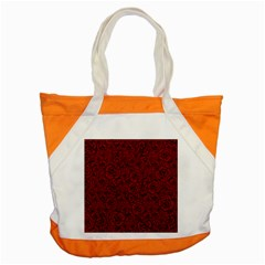 Red Roses Field Accent Tote Bag