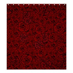 Red Roses Field Shower Curtain 66  X 72  (large)