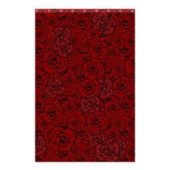 Red Roses Field Shower Curtain 48  X 72  (small)
