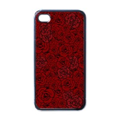 Red Roses Field Apple Iphone 4 Case (black)