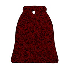 Red Roses Field Bell Ornament (two Sides)