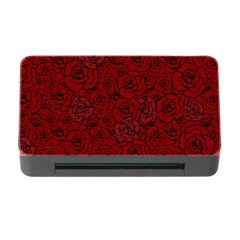 Red Roses Field Memory Card Reader With Cf