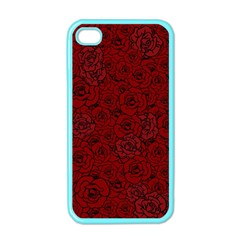 Red Roses Field Apple Iphone 4 Case (color)