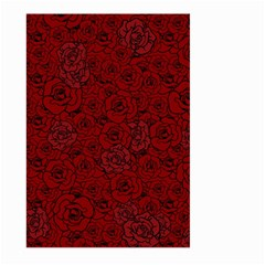 Red Roses Field Large Garden Flag (two Sides) by designworld65