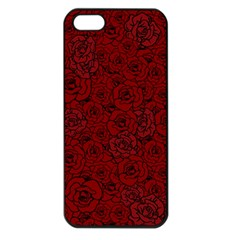 Red Roses Field Apple Iphone 5 Seamless Case (black)