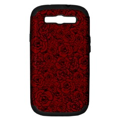 Red Roses Field Samsung Galaxy S Iii Hardshell Case (pc+silicone)