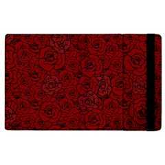 Red Roses Field Apple Ipad 3/4 Flip Case