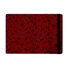 Red Roses Field Apple Ipad Mini Flip Case