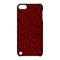 Red Roses Field Apple Ipod Touch 5 Hardshell Case With Stand by designworld65