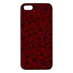 Red Roses Field Apple Iphone 5 Premium Hardshell Case