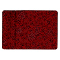 Red Roses Field Samsung Galaxy Tab 10 1  P7500 Flip Case