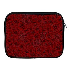 Red Roses Field Apple Ipad 2/3/4 Zipper Cases by designworld65
