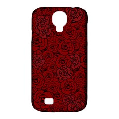 Red Roses Field Samsung Galaxy S4 Classic Hardshell Case (pc+silicone)