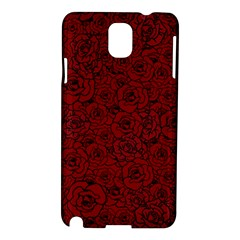 Red Roses Field Samsung Galaxy Note 3 N9005 Hardshell Case