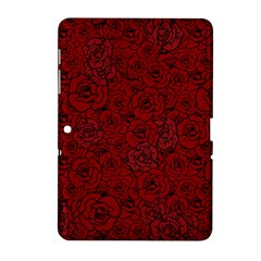 Red Roses Field Samsung Galaxy Tab 2 (10 1 ) P5100 Hardshell Case