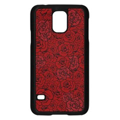 Red Roses Field Samsung Galaxy S5 Case (black)