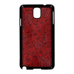 Red Roses Field Samsung Galaxy Note 3 Neo Hardshell Case (black)