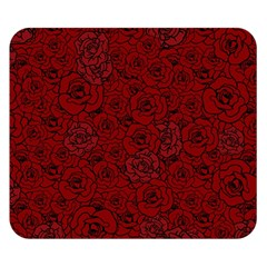 Red Roses Field Double Sided Flano Blanket (small)