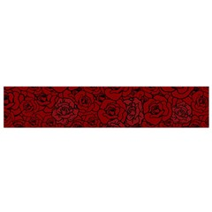 Red Roses Field Flano Scarf (small)