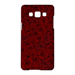 Red Roses Field Samsung Galaxy A5 Hardshell Case