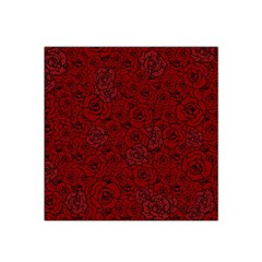Red Roses Field Satin Bandana Scarf