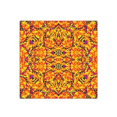 Colorful Vibrant Ornate Satin Bandana Scarf by dflcprintsclothing