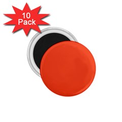 Trendy Basics   Trend Color Flame 1 75  Magnets (10 Pack)  by tarastyle