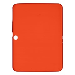 Trendy Basics   Trend Color Flame Samsung Galaxy Tab 3 (10 1 ) P5200 Hardshell Case  by tarastyle