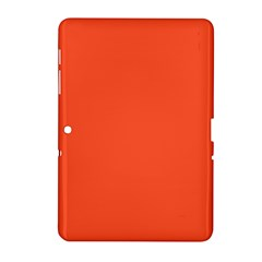 Trendy Basics   Trend Color Flame Samsung Galaxy Tab 2 (10 1 ) P5100 Hardshell Case  by tarastyle