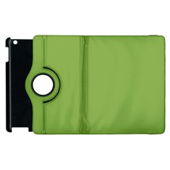 Trendy Basics   Trend Color Greenery Apple Ipad 2 Flip 360 Case by tarastyle