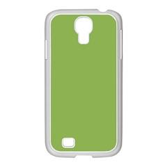 Trendy Basics   Trend Color Greenery Samsung Galaxy S4 I9500/ I9505 Case (white) by tarastyle