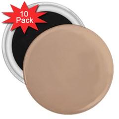 Trendy Basics   Trend Color Hazelnut 3  Magnets (10 Pack)  by tarastyle