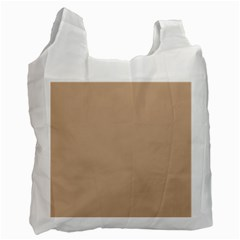 Trendy Basics   Trend Color Hazelnut Recycle Bag (two Side)  by tarastyle