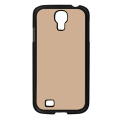 Trendy Basics   Trend Color Hazelnut Samsung Galaxy S4 I9500/ I9505 Case (black) by tarastyle