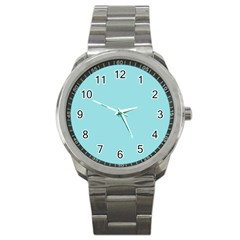 Trendy Basics   Trend Color Island Paradise Sport Metal Watch by tarastyle