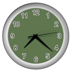 Trendy Basics   Trend Color Kale Wall Clocks (silver)  by tarastyle