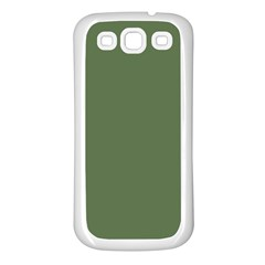 Trendy Basics   Trend Color Kale Samsung Galaxy S3 Back Case (white) by tarastyle