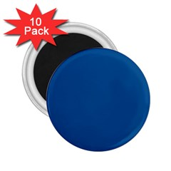 Trendy Basics   Trend Color Lapis Blue 2 25  Magnets (10 Pack)  by tarastyle
