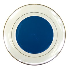 Trendy Basics   Trend Color Lapis Blue Porcelain Plates by tarastyle
