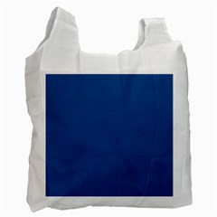 Trendy Basics   Trend Color Lapis Blue Recycle Bag (one Side) by tarastyle