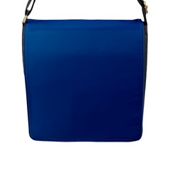 Trendy Basics   Trend Color Lapis Blue Flap Messenger Bag (l)  by tarastyle