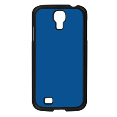 Trendy Basics   Trend Color Lapis Blue Samsung Galaxy S4 I9500/ I9505 Case (black) by tarastyle