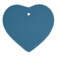 Trendy Basics   Trend Color Niagara Ornament (heart) by tarastyle